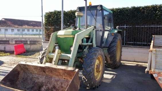 Tractor jhon deer 1980