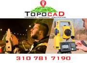 Servicios de topografía e ingeniería en  medicion de predios