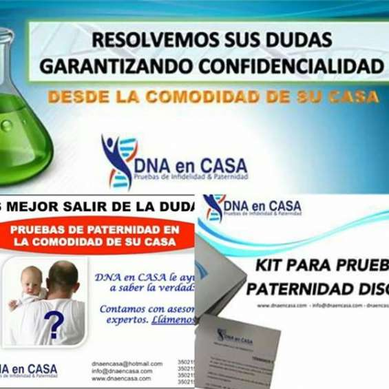 Kits para pruebas de paternidad