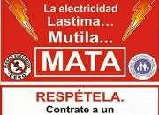 Electricista,Chapinero,Galerias,Teusaquillo,soledad,parkway,esmeralda.