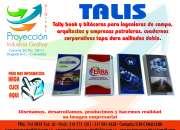 Tallybooks (Talis) y bitácoras para ingenieros de campo, arquitectos y empresas petroleras