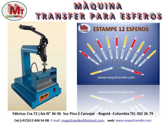 Transfer para estampar esferos a full color
