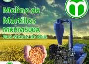 MOLINO DE MARTILLOS PARA GRANOS DE MAIZ  MKHM500A