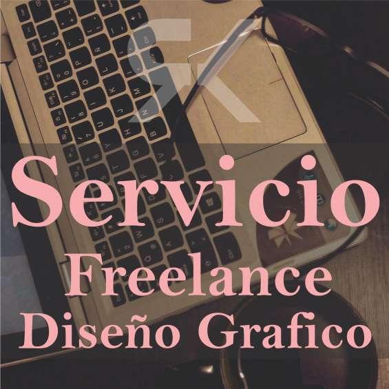 Servicio freelance de diseño grafico