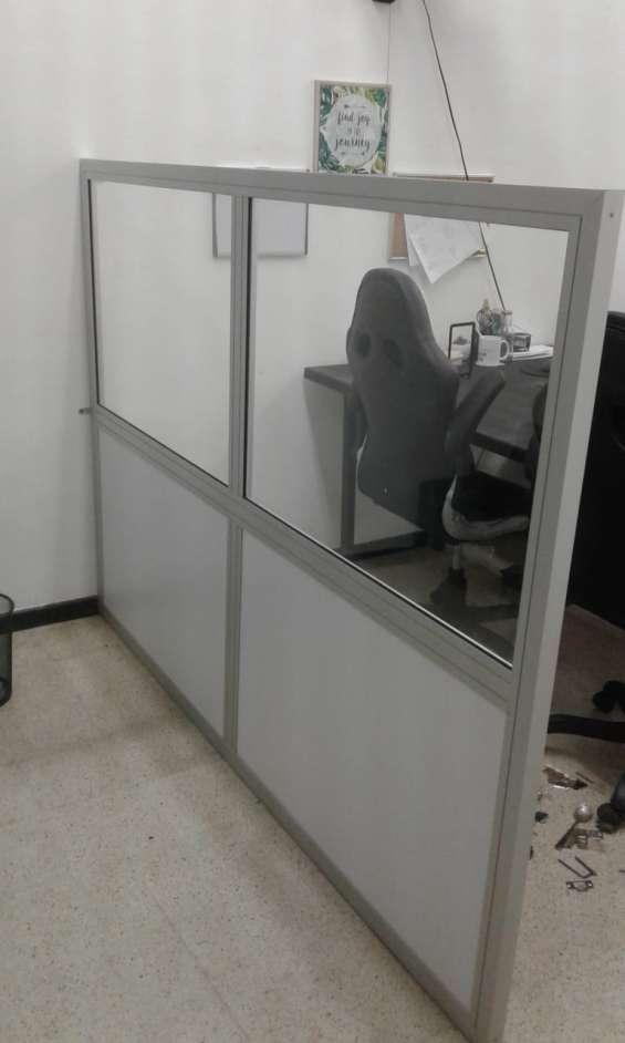 Divisiones para oficina modernas y funcionales