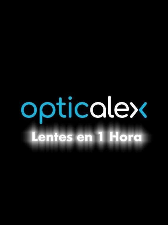 Óptica opticalex - lentes en una hora servicio express